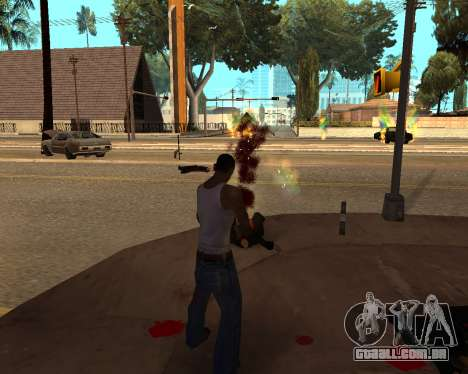 Rainbow Effects para GTA San Andreas terceira tela