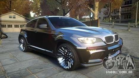 HAMANN BMW X6 2011 Tycoon EVO M v1.0 TSE para GTA 4 vista interior