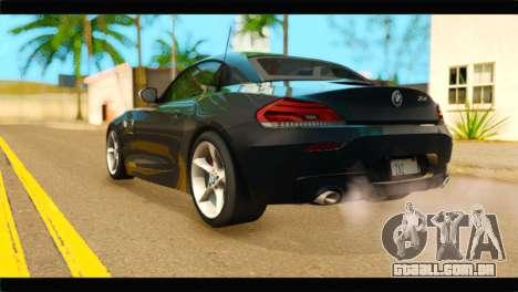 BMW Z4 sDrive35is 2011 para GTA San Andreas