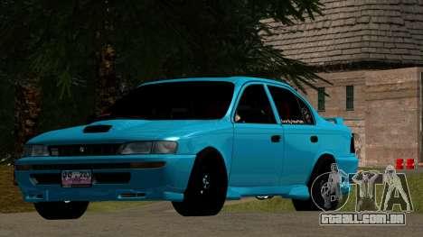 Toyota Corola AE100 para GTA San Andreas esquerda vista
