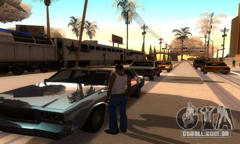 ENB Series para o meio do PC para GTA San Andreas