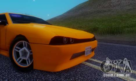 Elegy Hatchback v.1 para GTA San Andreas vista interior