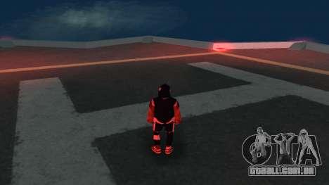 Substituindo os sem-teto v1 para GTA San Andreas terceira tela