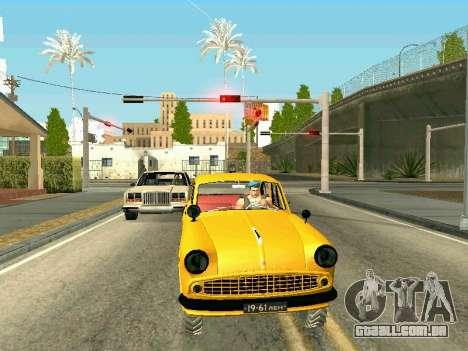 Moskvich 410 Em para GTA San Andreas esquerda vista