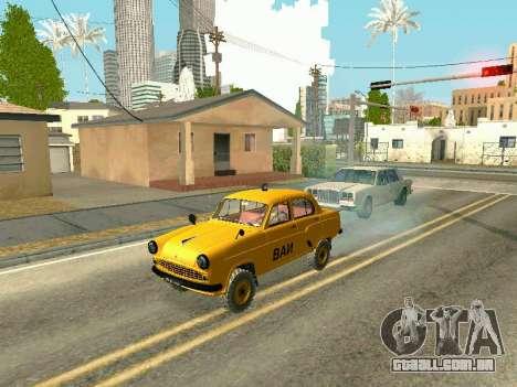 Moskvich 410 Em para GTA San Andreas vista direita
