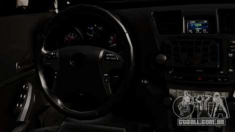 Toyota Hilux SW4 2014 Forca Tatica para GTA San Andreas vista traseira