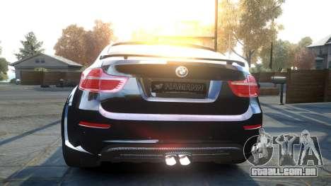 HAMANN BMW X6 2011 Tycoon EVO M v1.0 TSE para GTA 4 vista direita