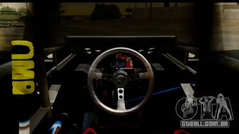 Flip Car 2012 para GTA San Andreas vista traseira