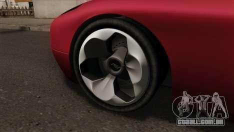 Bullet PFR v1.0 para GTA San Andreas traseira esquerda vista