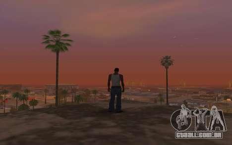 Timecyc & Colormod para GTA San Andreas quinto tela