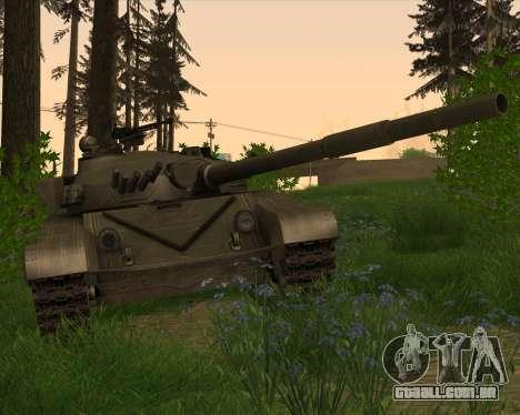 T-72 para GTA San Andreas vista interior