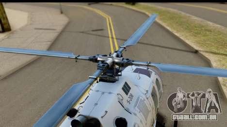 MBB Bo-105 Argentine Police para GTA San Andreas vista direita