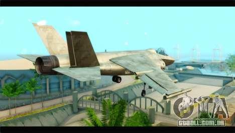 Mammoth Hydra v1 para GTA San Andreas esquerda vista