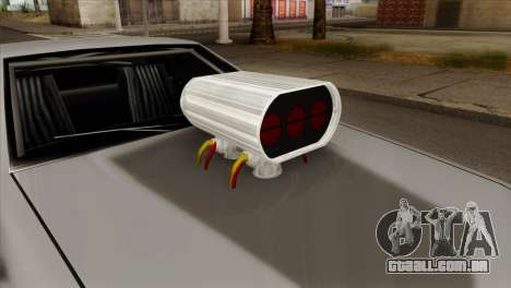 Buffalo Supercharged para GTA San Andreas vista direita