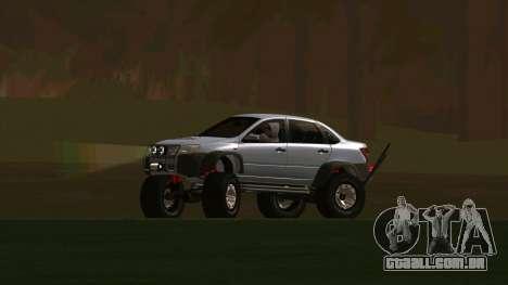 VAZ 2190 Conceder para GTA San Andreas vista direita