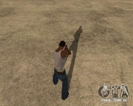A sombra de pessoas e carros para GTA San Andreas segunda tela