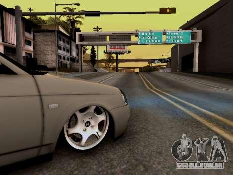 ВАЗ 2172 (Lada Priora) para GTA San Andreas vista direita