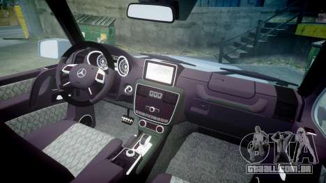Mercedes-Benz B65 Brabus [ELS] para GTA 4 vista de volta