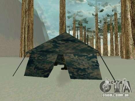 Tenda para GTA San Andreas