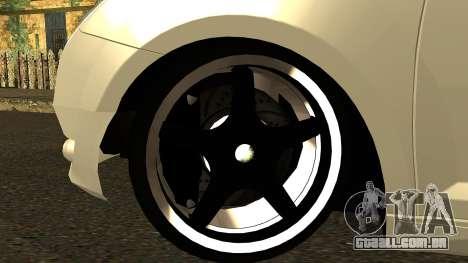 Alfa Romeo Mito Tuning para GTA San Andreas vista interior