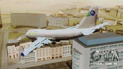 GTA 5 Caipira Airways para GTA San Andreas esquerda vista