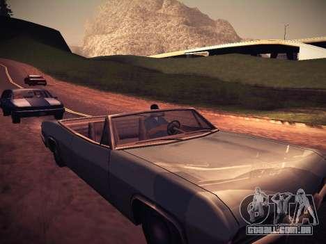 ENB Caramelo para GTA San Andreas sexta tela