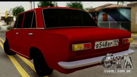 VAZ 2101 FOX para GTA San Andreas esquerda vista