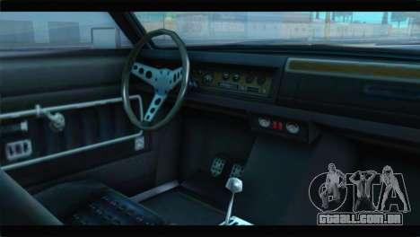 GTA 5 Benefactor Glendale Special IVF para GTA San Andreas vista direita