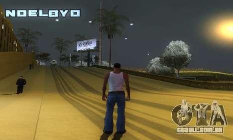 ENB Series v077 Light Effect para GTA San Andreas quinto tela
