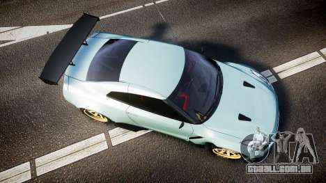 Nissan GT-R R35 Rocket Bunny [Update] para GTA 4 vista direita