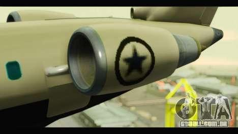 GTA 5 Buckingham Miljet Update para GTA San Andreas vista direita