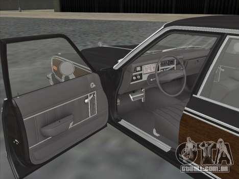 Plymouth Volare Wagon 1976 wood para GTA San Andreas vista traseira