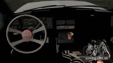 GMC Sierra 2500 1992 Extended Cab Final para GTA San Andreas vista direita