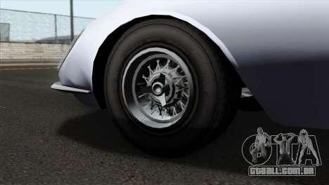 GTA 5 Grotti Stinger v2 IVF para GTA San Andreas traseira esquerda vista