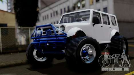 GTA 5 Canis Mesa Merryweather para GTA San Andreas
