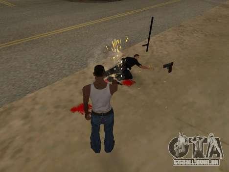 Overdose de efeitos (sem poeira) para GTA San Andreas terceira tela