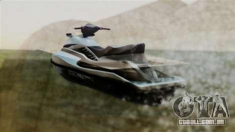 Seashark from GTA 5 para GTA San Andreas esquerda vista
