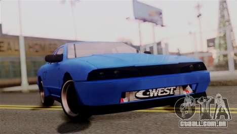 Elegy Full Customizing para GTA San Andreas