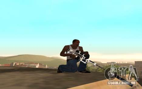 Skeleton Weapon Pack para GTA San Andreas terceira tela