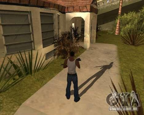 A sombra de pessoas e carros para GTA San Andreas