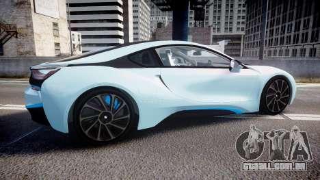 BMW i8 2013 para GTA 4 esquerda vista