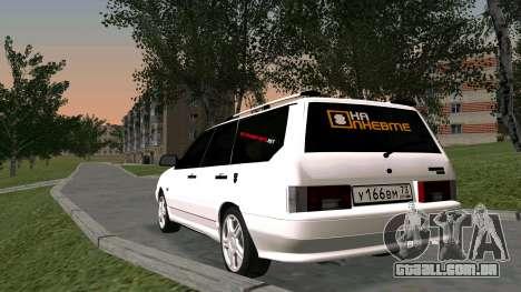 2115 Universal БПАN para GTA San Andreas vista interior