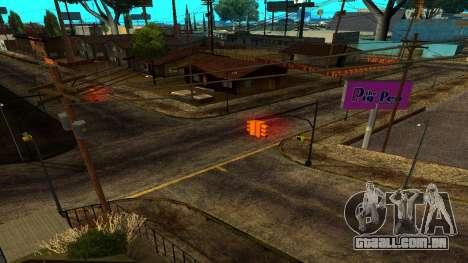 HQ Roads 2015 para GTA San Andreas por diante tela