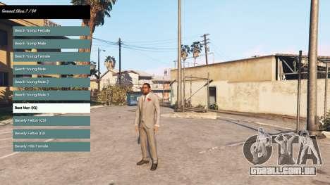 Mudando o personagem v2.0 para GTA 5