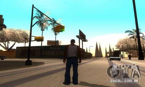 ENB Series para o meio do PC para GTA San Andreas segunda tela