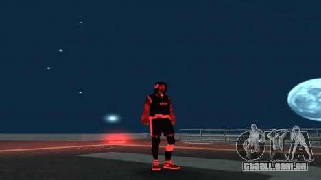 Substituindo os sem-teto v1 para GTA San Andreas segunda tela
