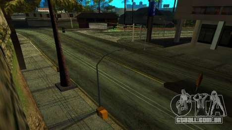 HQ Roads 2015 para GTA San Andreas terceira tela