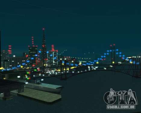Project 2dfx 2.5 para GTA San Andreas por diante tela