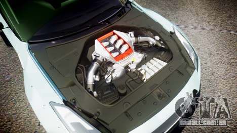 Nissan GT-R R35 Rocket Bunny [Update] para GTA 4 vista lateral