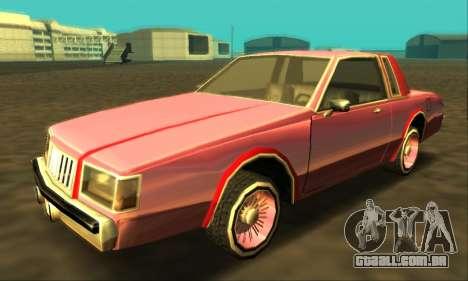 Majestic Restyle para as rodas de GTA San Andreas